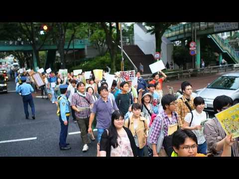 2014.06.22「命と自由をまもる若者憲法デモ@渋谷