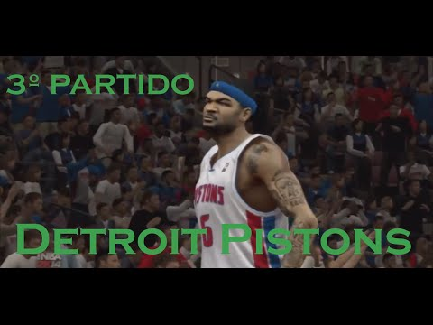 NBA 2K14 Gameplay - Luke Sinner 03 - My Career Detroit Pistons