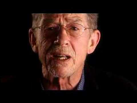 John Hurt speaking out