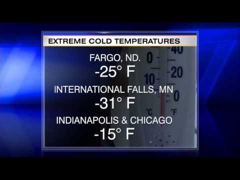 'Polar Vortex' Puts Midwest in Deep Freeze