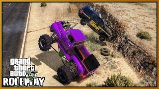 GTA 5 Roleplay - FUNNY COP TROLLING! CRUSHING THEIR CARS | RedlineRP #695