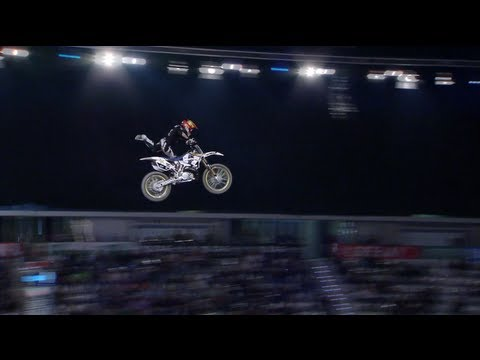 Freestyle Moto X | NIGHT of the JUMPs 2012 - Libor Podmol (CZE) Round 1 - on REBEL.TV