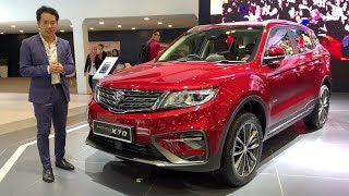 KLIMS18: Proton X70 SUV in detail, inside and out - launch in December 12