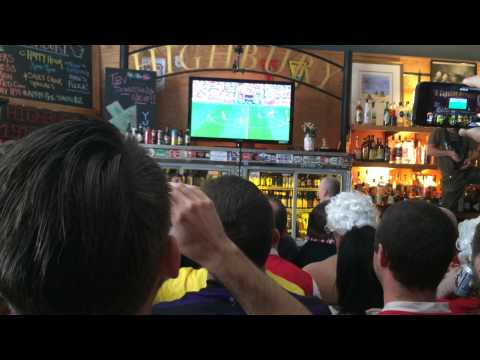 Arsenal Fans In Milwaukee (USA) Celebrate FA Cup Win