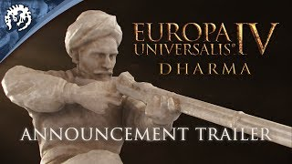 Europa Universalis IV - Dharma Bejelentés Trailer
