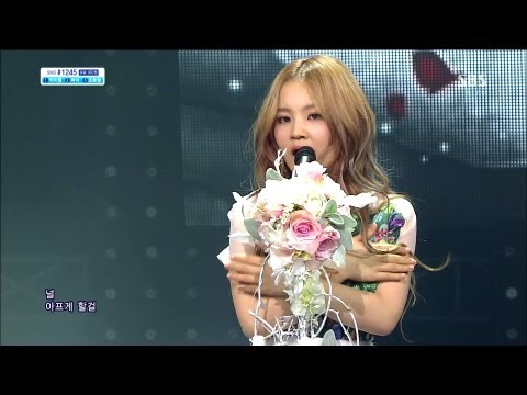 LEE HI (이하이) - ROSE @SBS Inkigayo 인기가요 2013.04.28