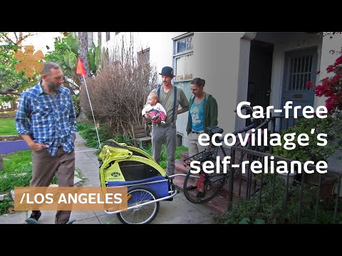 LA ecovillage: self-reliance in car-free urban homestead