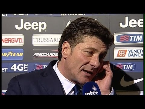 INTERVISTA WALTER MAZZARRI POST JUVENTUS-INTER