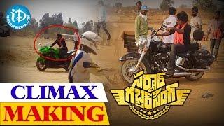 Sardaar Gabbar Singh Climax Scene Making - Pawan Kalyan, Kajal Aggarwal