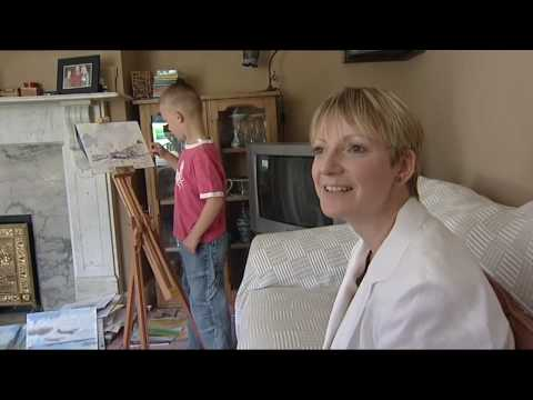 Kieron williamson 6 year old artist on itv news
