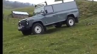 Land Rover Defender 110 Hard top.