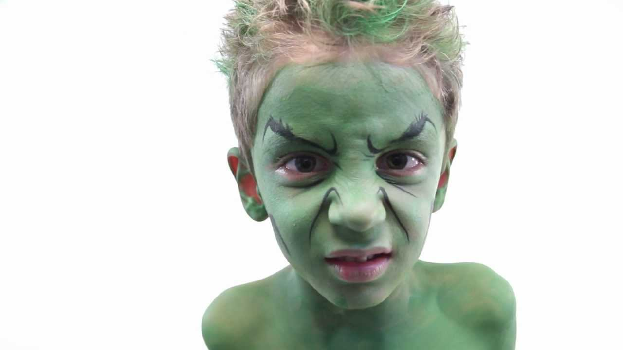 Boy face painting ideas
