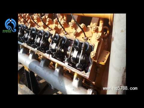 100KW wood chips gasifiation power plant installation in Congo