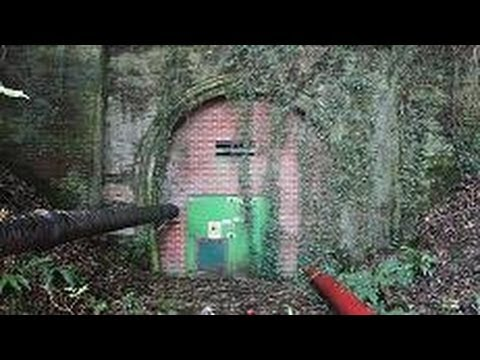 ventnor railway tunnel - north portal - isle of wi