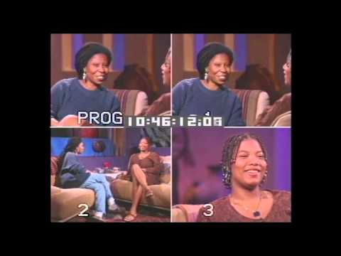 90's Throwback: The Whoopi Goldberg Show - Queen Latifah