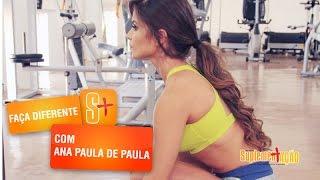Ana Paula de Paula - Treino de Pernas, Panturrilhas e Glúteos