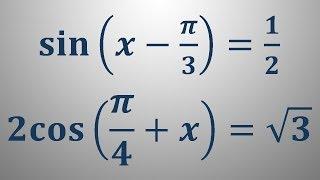 Trigonometrične enačbe 5