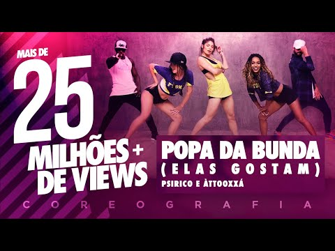 Popa da Bunda (Elas Gostam) - Psirico e Àttooxxá | FitDance TV (Coreografia)