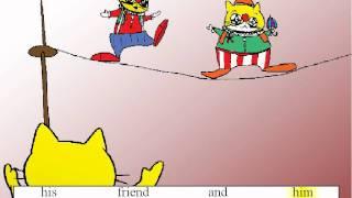 ASL105 'The Big Fat Clown' Song Teaching Kids Sight