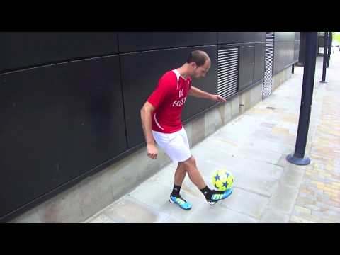 Learn Around the World (ATW) Football/ Soccer Trick with daniel cutting