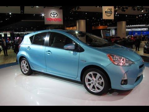 2012 Toyota Prius C -- 2012 Detroit Auto Show