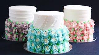 Mini Gift Cake Tutorial Russian Piping Tip- Rosie's Dessert Spot
