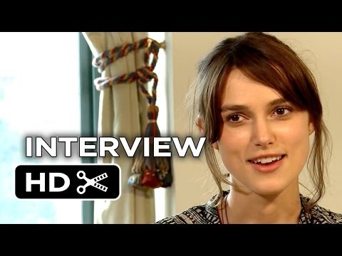 Begin Again Interview - Kiera Knightley (2014) - Music Drama HD