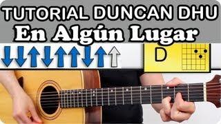 Como Tocar Guitarra EN ALGUN LUGAR De Duncan Dhu En