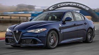 2017 Alfa Romeo Giulia Quadrifoglio Hot Lap! - 2017 Best Driver's Car Contender. MotorTrend.