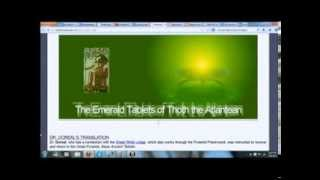 Emerald Tablets & Thoth's Pyramid Secret