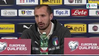 """Chiellini: """"Mancini ci ha ridato serenità, fiducia ed entusiasmo"""""""