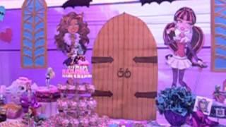 Decoración Monster High Recreolandia Producciones
