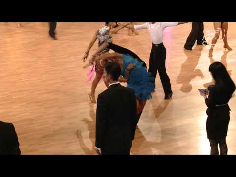 Michna - Vesela, CZE | 2014 Euro Youth LAT R1 S | DanceSport Total