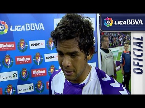 Interview Osorio after Real Valladolid (1-1) Real Madrid - HD
