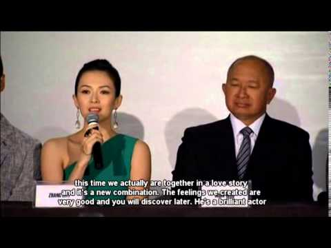 Zhang Ziyi, John Woo Talks About New Film
