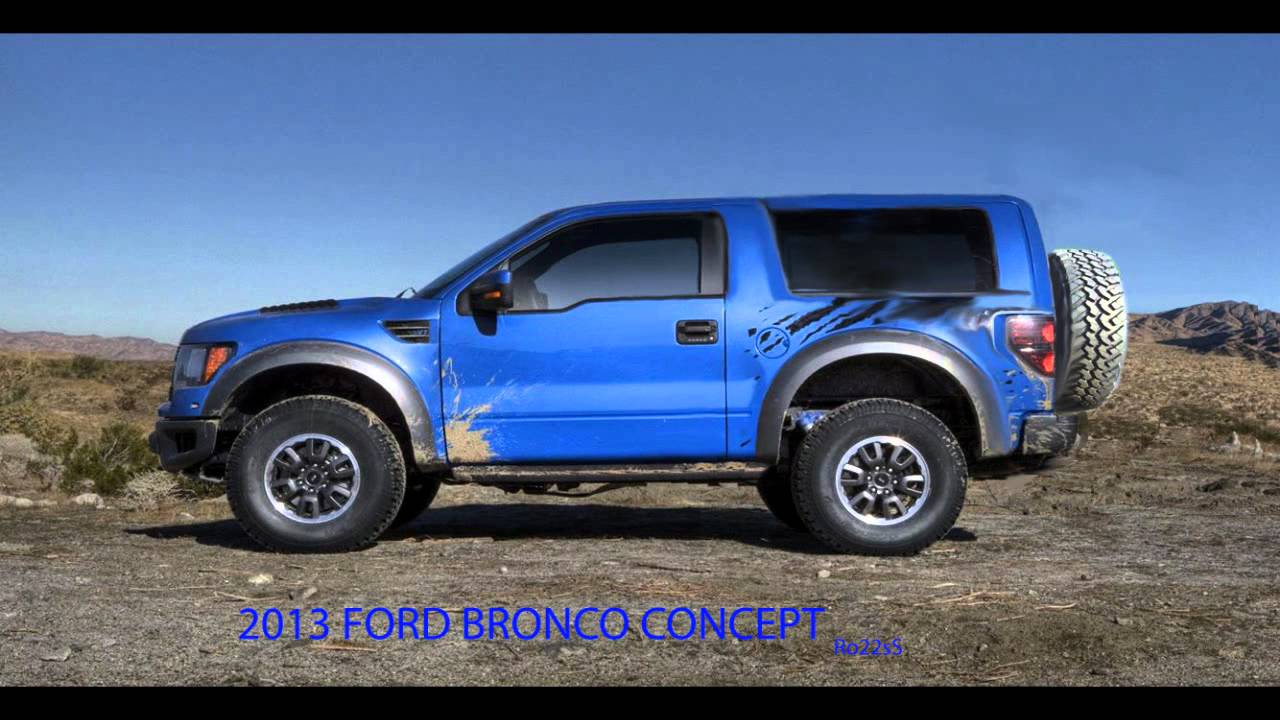 Ford Bronco Concept 2015 (Raptor SVT Package) Ro22sS Design Exclusive