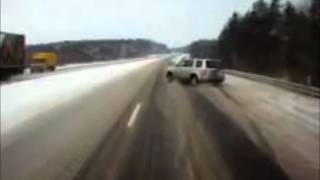 Подборка ДТП с видеорегистраторов 18 \ Car Crash compilation 18