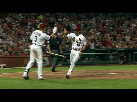 WSH@STL: Robinson plates Carpenter on an RBI single