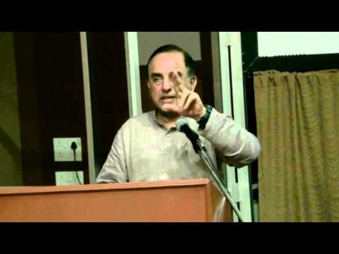 Dr Swamy at Commisceo - Madras Christian College - Dept. Of Public Administration 9-12-2013 (Part 2)