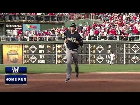 Ryan Braun 3 home run game