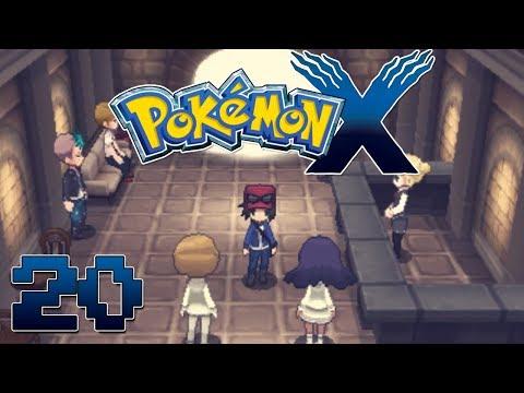 Let's Play Pokemon X Part 20 Power Plant  - Gameplay Walkthrough