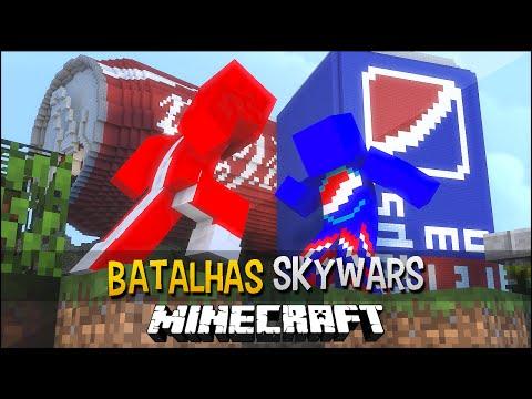 Minecraft: Coca-Cola vs Pepsi - Batalhas SkyWars
