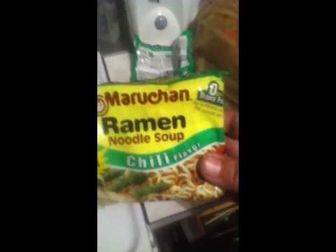 English lesson on ramen noodles