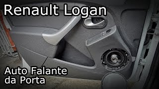 Renault Logan Instalação Do Auto Falante