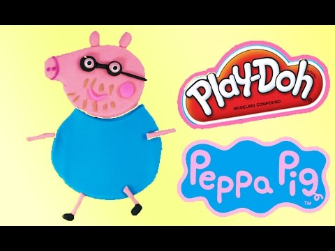 Peppa Pig Play Doh Daddy Pig Playdough Creation toy