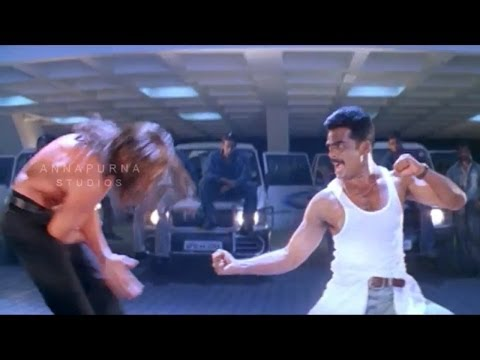 Mass Movie || Rahul Dev Action Scene || Nagarjuna, Jyothika