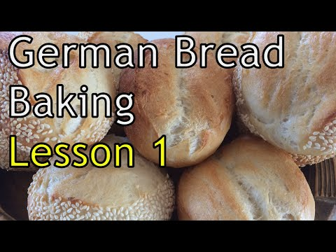 Bread Baking class Lesson 1 - How to make your own Sourdough