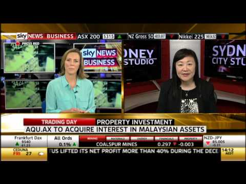 Sky Business News - Tan Yang Po talked about the 4 Malaysia assets Aquaint is buying
