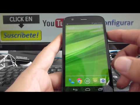 cómo cambiar el fondo de pantalla en Motorola Moto G X T1032 En Español YouTube Full HD