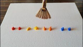 Pintura abstracta sencilla de hacer